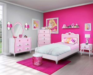 Kamar Set Anak Model Barbie