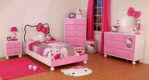 Kamar Set Anak Model Hello Kitty